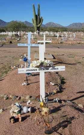 JONES, JOHNNIE GILBERT - Maricopa County, Arizona | JOHNNIE GILBERT JONES - Arizona Gravestone Photos