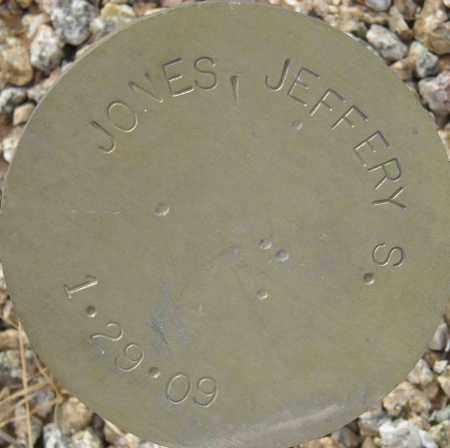 JONES, JEFFERY S. - Maricopa County, Arizona | JEFFERY S. JONES - Arizona Gravestone Photos