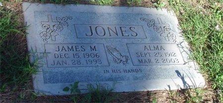 JONES, ALMA - Maricopa County, Arizona | ALMA JONES - Arizona Gravestone Photos