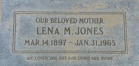 JONES, LENA M - Maricopa County, Arizona | LENA M JONES - Arizona Gravestone Photos