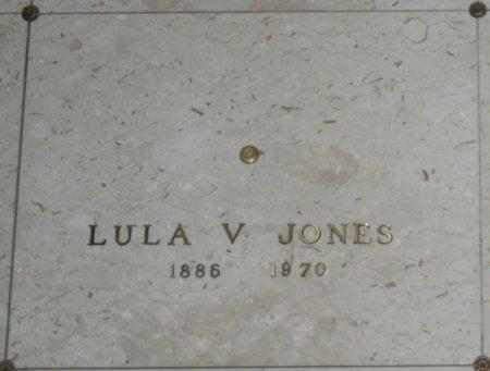 JONES, LULA V - Maricopa County, Arizona   LULA V JONES - Arizona Gravestone Photos