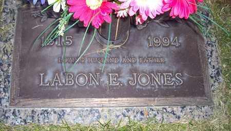 JONES, LABON E. - Maricopa County, Arizona | LABON E. JONES - Arizona Gravestone Photos