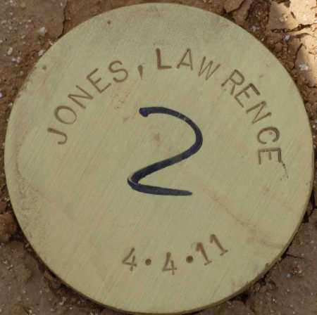 JONES, LAWRENCE - Maricopa County, Arizona | LAWRENCE JONES - Arizona Gravestone Photos