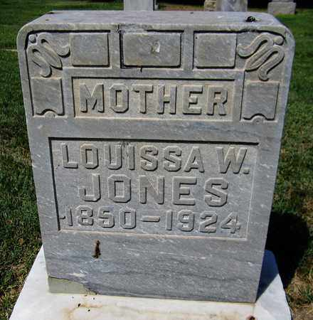 JONES, LOUISSA W. - Maricopa County, Arizona | LOUISSA W. JONES - Arizona Gravestone Photos