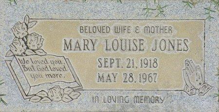 JONES, MARY LOUIS - Maricopa County, Arizona | MARY LOUIS JONES - Arizona Gravestone Photos
