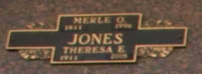 JONES, THERESA E - Maricopa County, Arizona | THERESA E JONES - Arizona Gravestone Photos