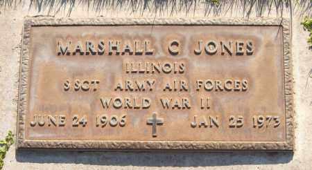 JONES, MARSHALL C. - Maricopa County, Arizona   MARSHALL C. JONES - Arizona Gravestone Photos