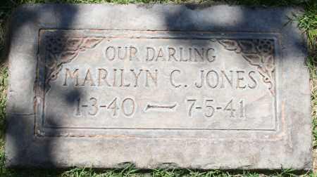 JONES, MARILYN C - Maricopa County, Arizona | MARILYN C JONES - Arizona Gravestone Photos