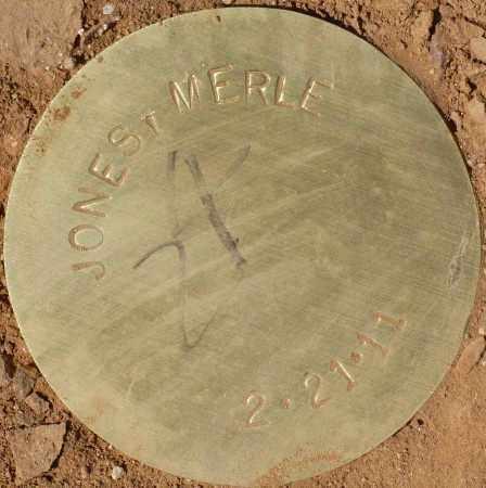 JONES, MERLE - Maricopa County, Arizona | MERLE JONES - Arizona Gravestone Photos