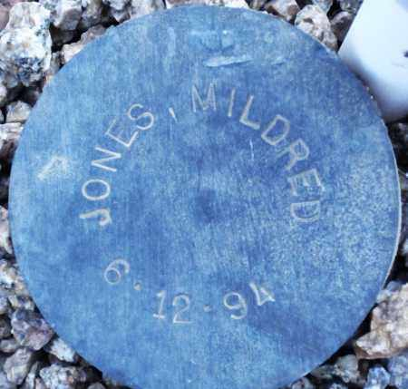 JONES, MILDRED - Maricopa County, Arizona | MILDRED JONES - Arizona Gravestone Photos