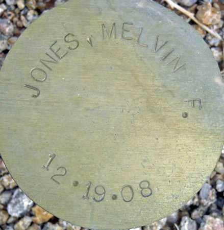 JONES, MELVIN F. - Maricopa County, Arizona   MELVIN F. JONES - Arizona Gravestone Photos