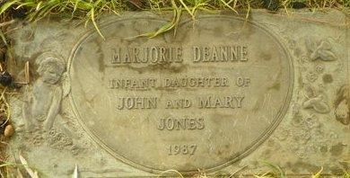 JONES, MARJORIE DEANNE - Maricopa County, Arizona | MARJORIE DEANNE JONES - Arizona Gravestone Photos