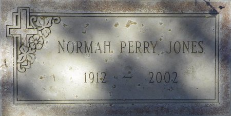 JONES, NORMAH PERRY - Maricopa County, Arizona | NORMAH PERRY JONES - Arizona Gravestone Photos