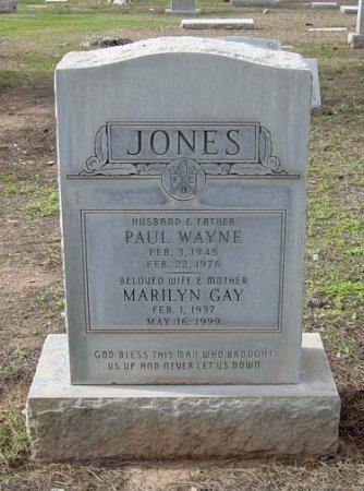 JONES, PAUL WAYNE - Maricopa County, Arizona | PAUL WAYNE JONES - Arizona Gravestone Photos