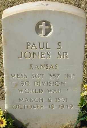 JONES, PAUL S. - Maricopa County, Arizona | PAUL S. JONES - Arizona Gravestone Photos