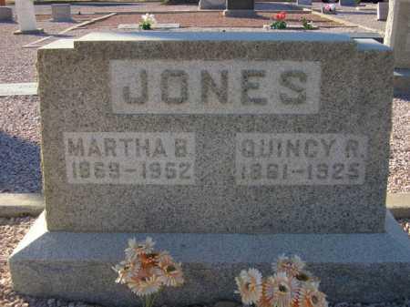 JONES, MARTHA B. - Maricopa County, Arizona | MARTHA B. JONES - Arizona Gravestone Photos