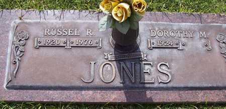 JONES, RUSSEL R. - Maricopa County, Arizona | RUSSEL R. JONES - Arizona Gravestone Photos