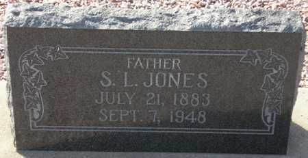 JONES, S. L. - Maricopa County, Arizona | S. L. JONES - Arizona Gravestone Photos