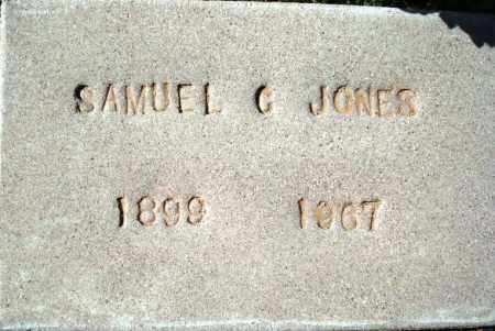 JONES, SAMUEL C. - Maricopa County, Arizona | SAMUEL C. JONES - Arizona Gravestone Photos