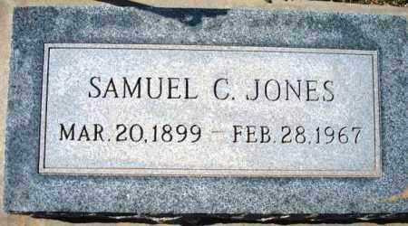 JONES, SAMUEL C. - Maricopa County, Arizona | SAMUEL C. JONES - Arizona Gravestone Photos