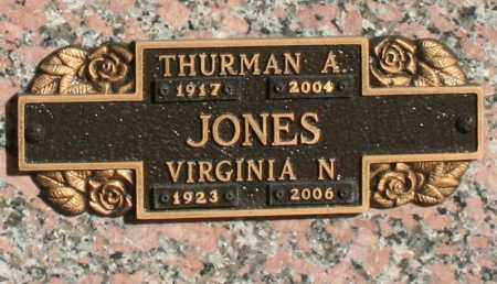 JONES, VIRGINIA M - Maricopa County, Arizona | VIRGINIA M JONES - Arizona Gravestone Photos