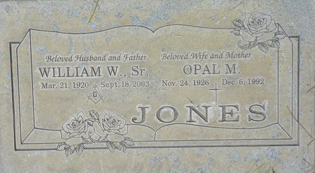 JONES, WILLIAM W SR - Maricopa County, Arizona | WILLIAM W SR JONES - Arizona Gravestone Photos