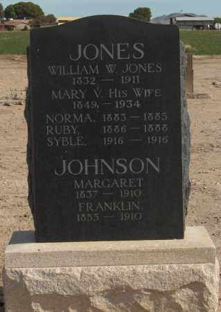JONES, WILLIAM W - Maricopa County, Arizona | WILLIAM W JONES - Arizona Gravestone Photos