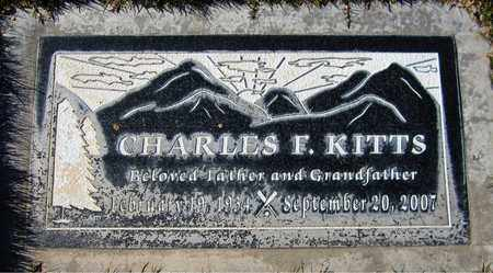 KITTS, CHARLES F. - Maricopa County, Arizona | CHARLES F. KITTS - Arizona Gravestone Photos