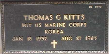 KITTS, THOMAS G. - Maricopa County, Arizona   THOMAS G. KITTS - Arizona Gravestone Photos