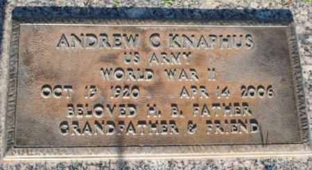 KNAPHUS, ANDREW C - Maricopa County, Arizona | ANDREW C KNAPHUS - Arizona Gravestone Photos