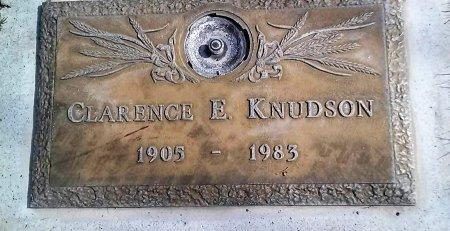 KNUDSON, CLARENCE EDGAR - Maricopa County, Arizona | CLARENCE EDGAR KNUDSON - Arizona Gravestone Photos