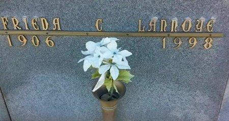 LANNOYE, FRIEDA C. - Maricopa County, Arizona | FRIEDA C. LANNOYE - Arizona Gravestone Photos