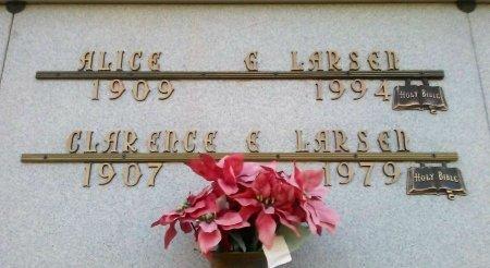 LARSEN, CLARENCE E. - Maricopa County, Arizona | CLARENCE E. LARSEN - Arizona Gravestone Photos