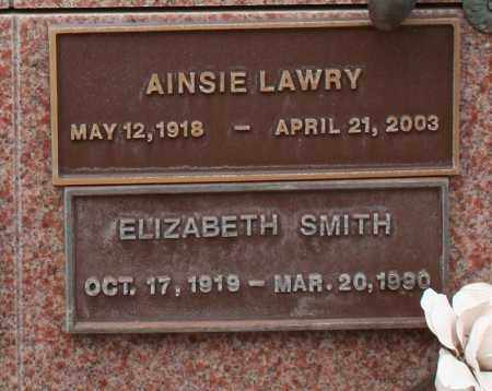 SMITH, ELIZABETH - Maricopa County, Arizona | ELIZABETH SMITH - Arizona Gravestone Photos