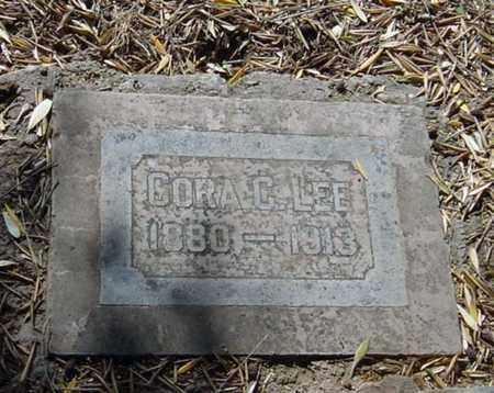 LEE, CORA C. - Maricopa County, Arizona | CORA C. LEE - Arizona Gravestone Photos