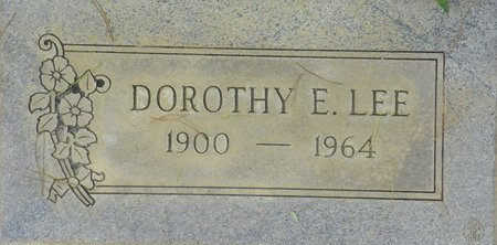 LEE, DOROTHY E - Maricopa County, Arizona | DOROTHY E LEE - Arizona Gravestone Photos