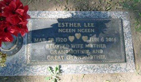 LEE, ESTHER - Maricopa County, Arizona | ESTHER LEE - Arizona Gravestone Photos