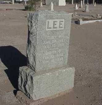 LEE, ELZEY P - Maricopa County, Arizona | ELZEY P LEE - Arizona Gravestone Photos