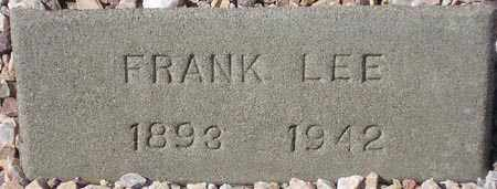 LEE, FRANK - Maricopa County, Arizona | FRANK LEE - Arizona Gravestone Photos