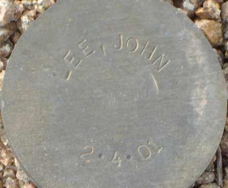 LEE, JOHN - Maricopa County, Arizona   JOHN LEE - Arizona Gravestone Photos
