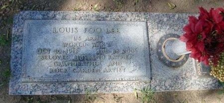 LEE, LOUIS FOO - Maricopa County, Arizona   LOUIS FOO LEE - Arizona Gravestone Photos