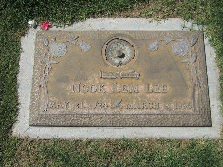 LEE, NGOK LEM - Maricopa County, Arizona   NGOK LEM LEE - Arizona Gravestone Photos