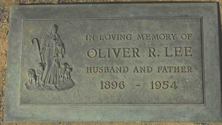 LEE, OLIVER R. - Maricopa County, Arizona | OLIVER R. LEE - Arizona Gravestone Photos
