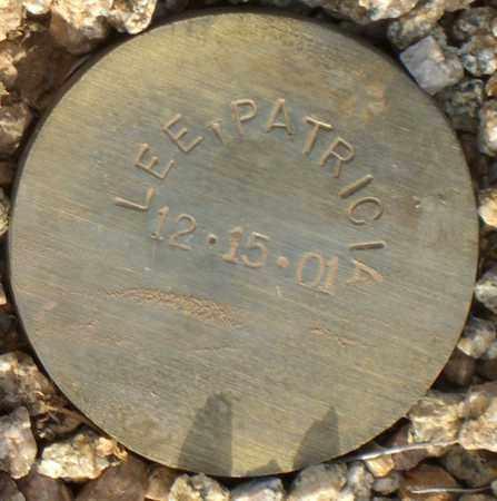 LEE, PATRICK - Maricopa County, Arizona   PATRICK LEE - Arizona Gravestone Photos