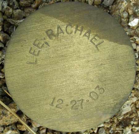 LEE, RACHAEL - Maricopa County, Arizona | RACHAEL LEE - Arizona Gravestone Photos
