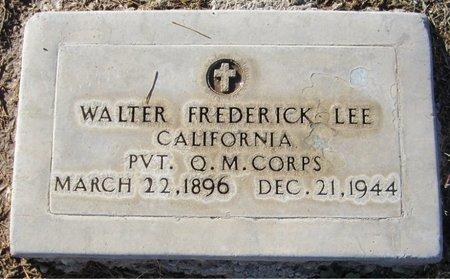 LEE, WALTER FREDERICK - Maricopa County, Arizona   WALTER FREDERICK LEE - Arizona Gravestone Photos