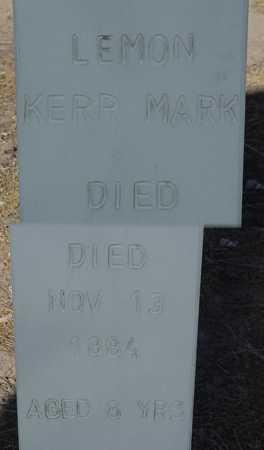 LEMON, KERR MARK - Maricopa County, Arizona | KERR MARK LEMON - Arizona Gravestone Photos
