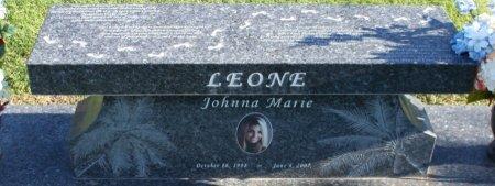 LEONE, JOHNNA MARIE - Maricopa County, Arizona   JOHNNA MARIE LEONE - Arizona Gravestone Photos