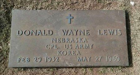 LEWIS, DONALD WAYNE - Maricopa County, Arizona | DONALD WAYNE LEWIS - Arizona Gravestone Photos