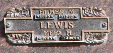 LEWIS, ELMER M - Maricopa County, Arizona | ELMER M LEWIS - Arizona Gravestone Photos